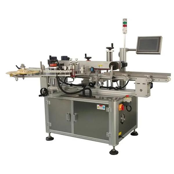 Автоматична машина за етикетиране на ъглови кашони