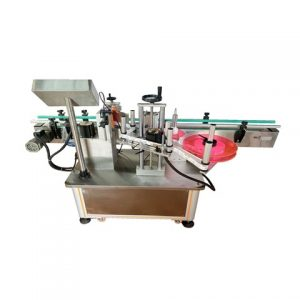 Automatic Container Carton On Two Sides Labeling Machine