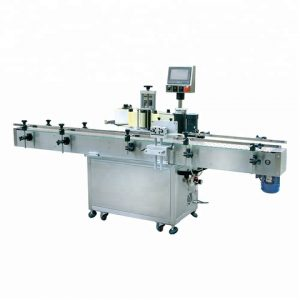 China Full 1l Round Plastic Bottle Labeling Machine