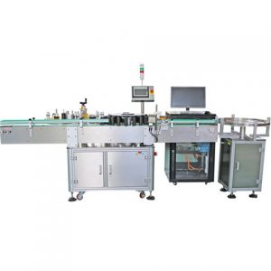 Bucket One Side Surface Labeling Machine