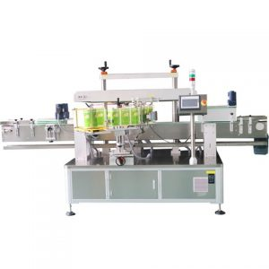 Adhesive Sticker Label Labeling Machines Carton Two Corners