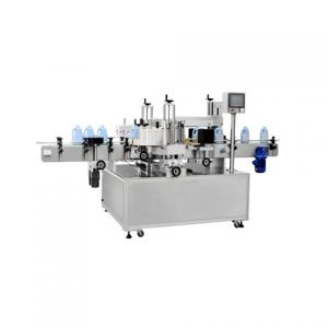Fresh Fruit Container Top Surface Sticker Labeling Machine