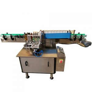 Three Sides Labeling Machine For Beer Bottle