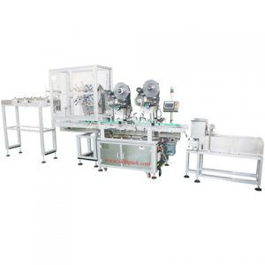 Automatic Sticker High Quality Card Bag Labeling Machine