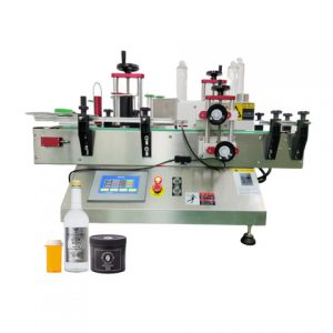 Automatic Food Container C Wrap Packaging Labelling Machine