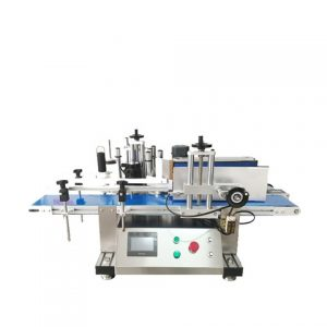 Sticker Pharmaceutical Square Bottle Four Sids Labeling Machine