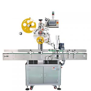 Automatic Adhesive Sticker Round Beer Cans Labeling Machine