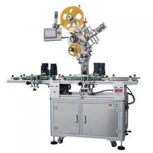 Adhesive Labeler For Bucket
