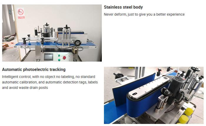 Подробности за автоматичната машина за етикетиране на бутилки за плот