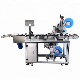 Детайли за автоматична плоска етикетираща машина за горна и долна част