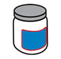 Етикетиране на кръгла бутилка